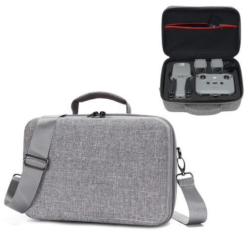 For DJI Mavic Air 2 Portable Nylon Shoulder Crossbody Storage Bag Protective Box (Grey)