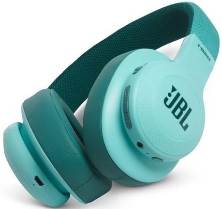 JBL E55BT Wireless over-ear headphones (Teal)