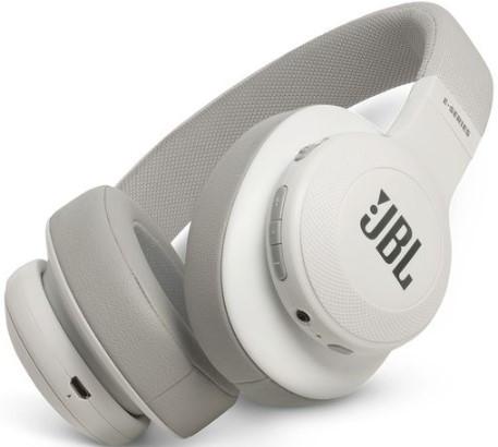 JBL E55BT Wireless over-ear headphones (White)